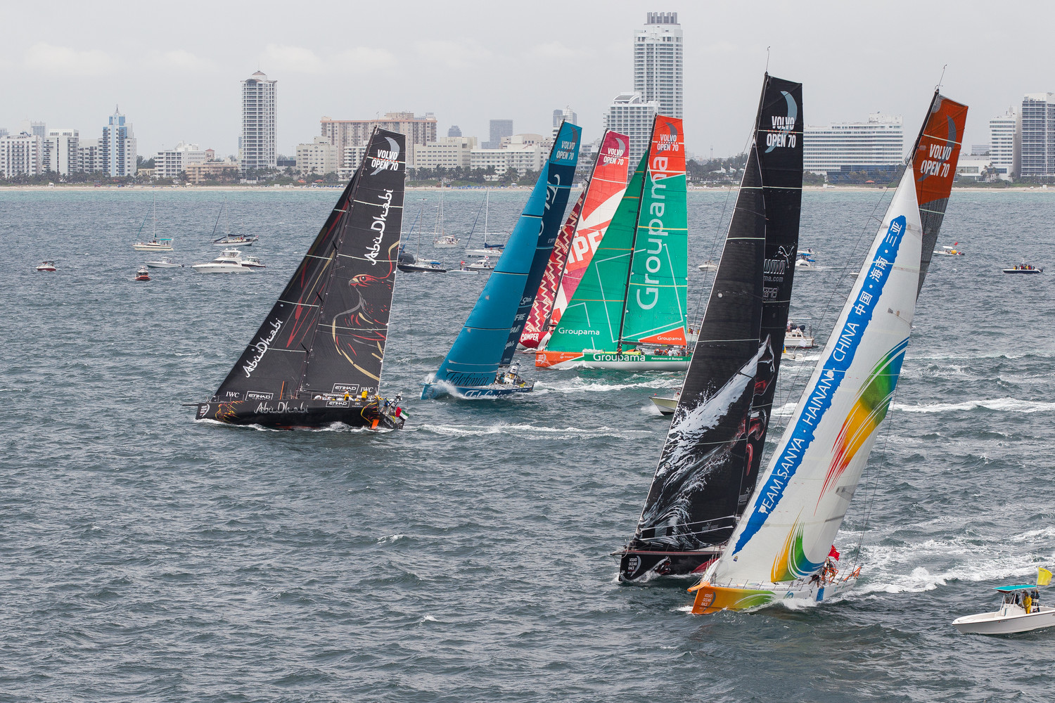Quatre quipages en lice pour l&rsquo;In Port Race Trophy